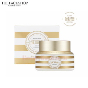 THE FACE SHOP Holiday The Therapy Royal Made Moisture Blending Cream 50ml [All The Wishes Edition]